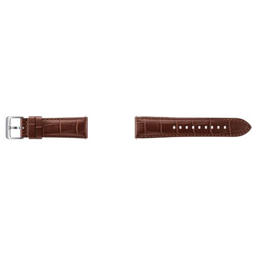 Gear S3 Alligator Grain Leather Band - Brown