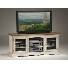Wilshire Entertainment Console Antique White
