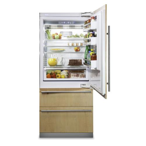 "36"" Custom Panel Fully Integrated Bottom-Freezer Refrigerator - FBI7360W Viking 7 Series"