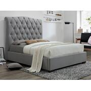 Janice Queen Headboard Grey Product Image