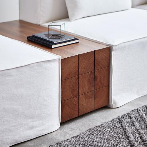 Mix Modular Block Table Walnut