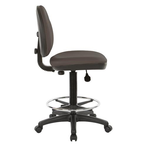 Sculptured Seat and Back Drafting Chair