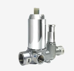Pressure Balance Mixer with Diverter - Valve only Black Product Image