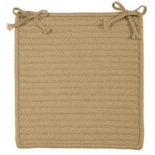"Simply Home Chair Pad H330 Cuban Sand 15"" X 15"" (Set 4)"