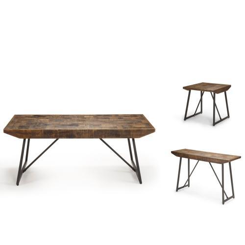 Walden Parquet End Table