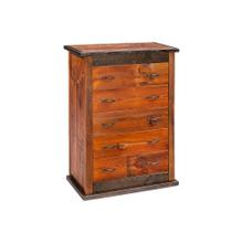 Mossy Oak Natchez Trace 5 Drawer Chest With Hidden Gun Storage