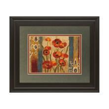 Ikat Floral Tapestry By Sylvia Vassileva
