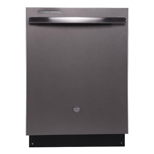 "GE Profile 24"" Built-In Stainless Steel Tall Tub Dishwasher Slate - PBT860SMMES"