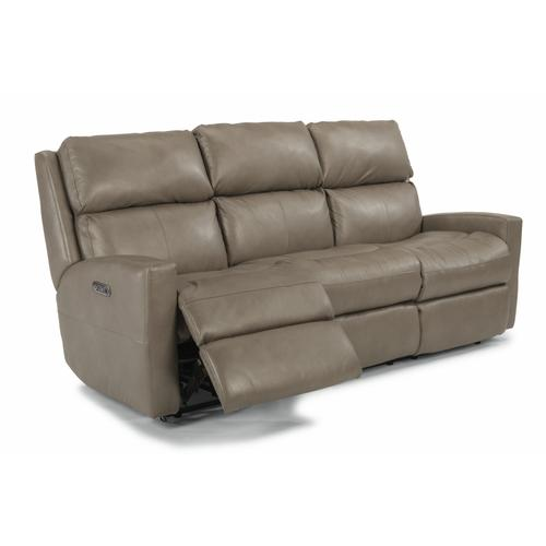 Flexsteel - Catalina Power Reclining Sofa with Power Headrests