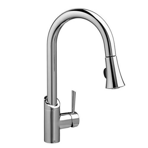 Dxv - Fresno Pull-Down Kitchen Faucet - Polished Chrome