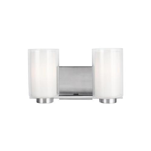 Bergin 2 - Light Vanity Satin Nickel
