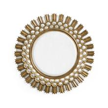 Berkley Burst Gilded Hanging Wall Mirror