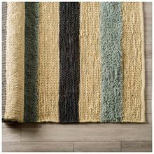 Dolman 8 x 10 Multi-Colored Jute Hand Woven Rug