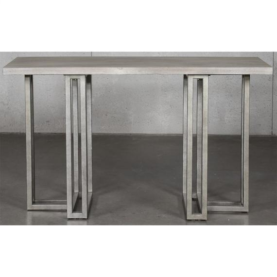 Riverside - Adelyn - Sofa Table - Crema Gray Finish