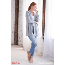 Be-YOU-tiful Back Slit Cardigan - S/M (3 pc. ppk.)