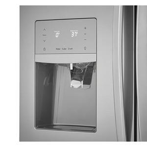 Frigidaire - Frigidaire Gallery 21.7 Cu. Ft. Counter-Depth French Door Refrigerator