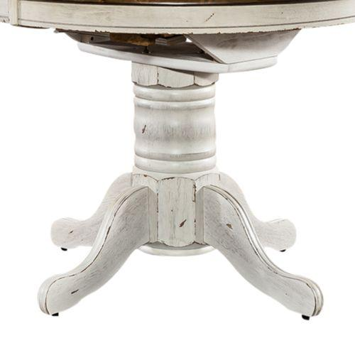 Gallery - Oval Pedestal Table Base- White