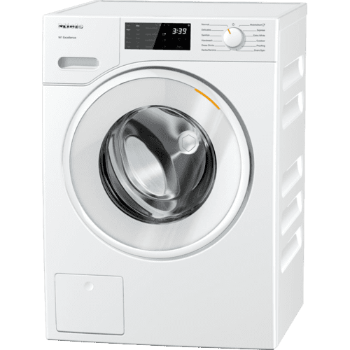 Miele - WXD 160 WCS - W1 Front-loading washing machine with CapDosing and Miele@home for smart laundry care.