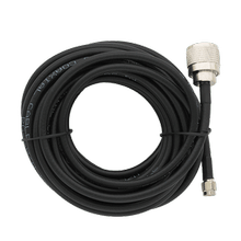 20 ft. RG58 Coax Cable Assembly (N Male - SMA Male)