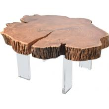 """See Details - Woodland Coffee Table - 32"""" W x 34"""" D x 16.5"""" H"""
