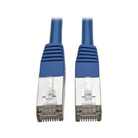 Cat5e 350 MHz Molded Shielded (STP) Ethernet Cable (RJ45 M/M) - Blue, 3 ft. (0.91 m)