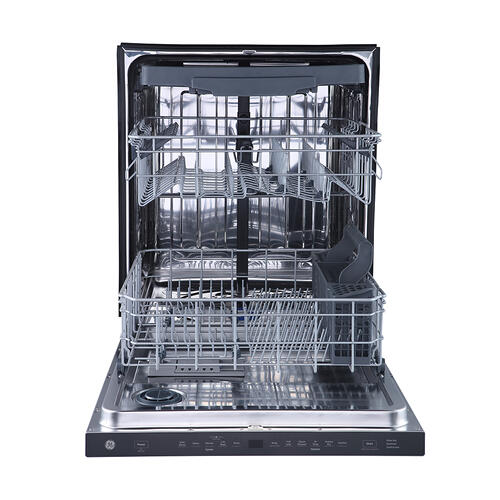 """GE Appliances Canada - GE 24"""" Built-In Top Control Dishwasher with Stainless Steel Tall Tub Stainless Steel - GBP655SSPSS"""