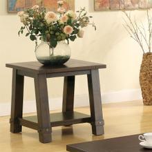 Product Image - Windridge - Angled Leg Side Table - Sagamore Burnished Ash Finish