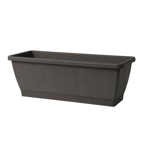 Kezar Plant Box w/att oblong tray, Medium(Greener)