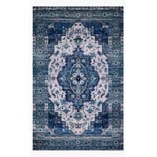 CIE-01 Ivory / Turquoise Rug