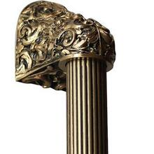 Acanthus - 24K Satin Gold Fluted Bar
