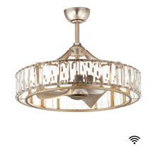 See Details - Odeon 8-Light WiFi-enabled LED Fandelight