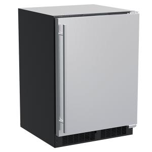 Marvel24-In Built-In Refrigerator Freezer with Door Style - Stainless Steel