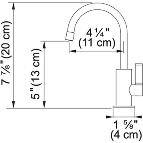 Franke - LB10180 Satin Nickel