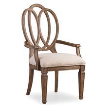 Solana Wood Back Arm Chair - 2 per carton/price ea