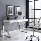 Adjacent Desk in White Product Image