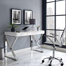See Details - Adjacent Desk in White