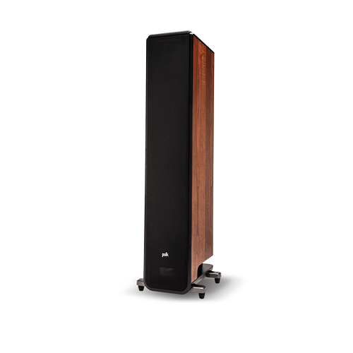 PREMIUM FLOORSTANDING LOUDSPEAKER in Brown Walnut