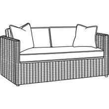 Paradise Bay Bench Seat Loveseat