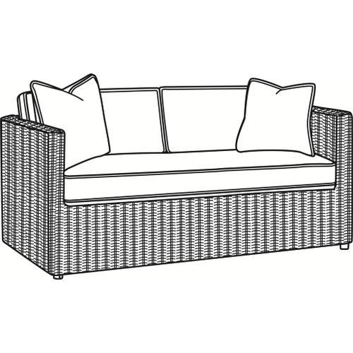 Gallery - Paradise Bay Bench Seat Loveseat