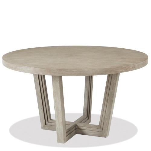 Cascade - Round Dining Table Top - Dovetail Finish