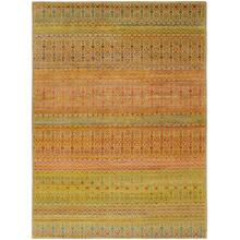 "LATHAM 6629F IN YELLOW/MULTI 7'-9"" x 9'-9"""