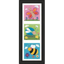 """""""Garden Party Il"""" By Sophie Harding Framed Print Wall Art"""