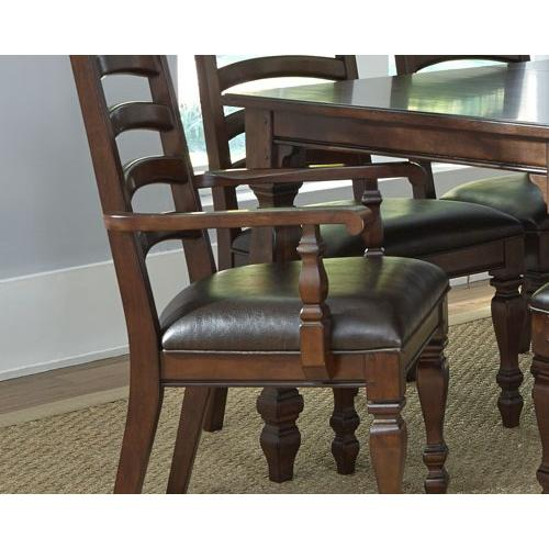 A America - Ladder Back Arm Chair