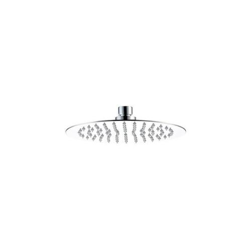 """Mountain Plumbing - 8"""" Round Rain Head with Air-Injected Ball Joint for Shower Head - Oil Rubbed Bronze"""