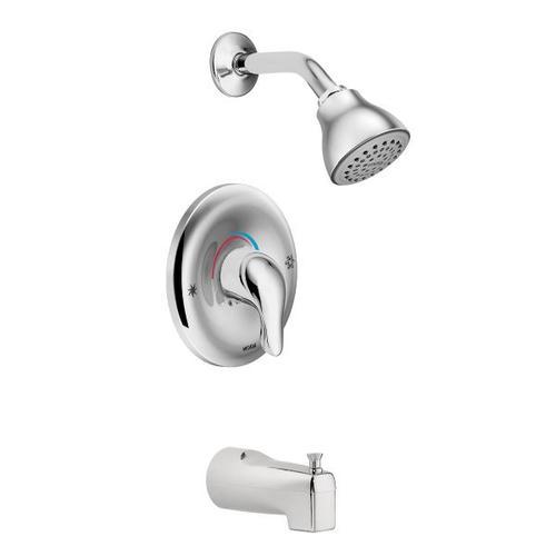 Chateau chrome posi-temp® tub/shower