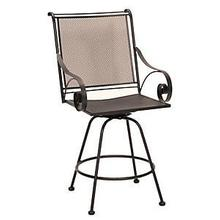 See Details - Monticello Swivel Bar Stool