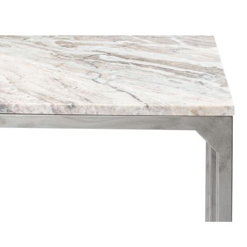 Open Desk With Shelves, Marble Top