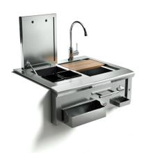 30in Cocktail Pro Station with Sink