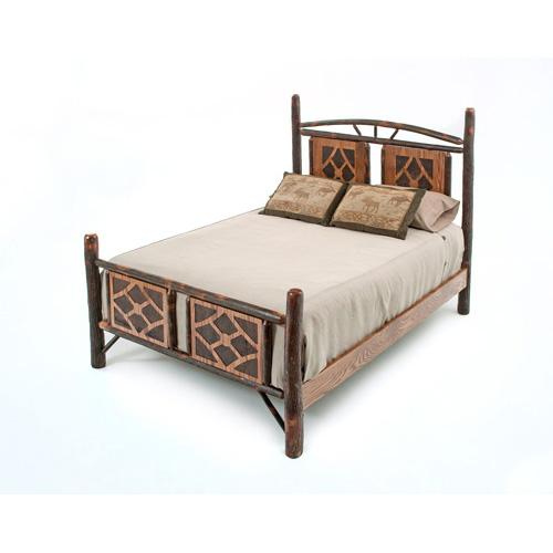 Yosemite Hickory Bed - King Headboard Only