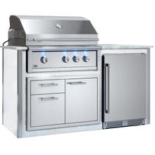 """See Details - Appliance Ready Pre-Assembled 36"""" Designer Island White"""